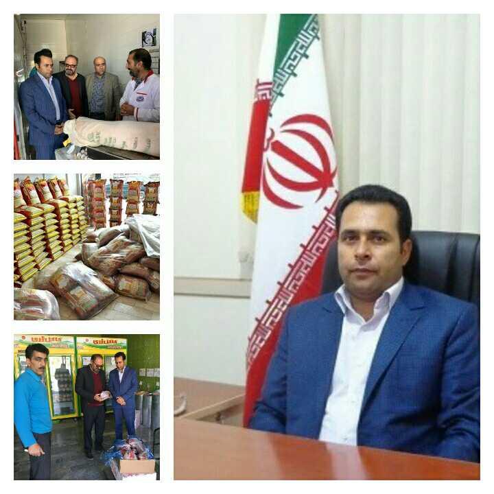 توزیع 115 تن کالای تنظیم بازار در شهرستان نهبندان