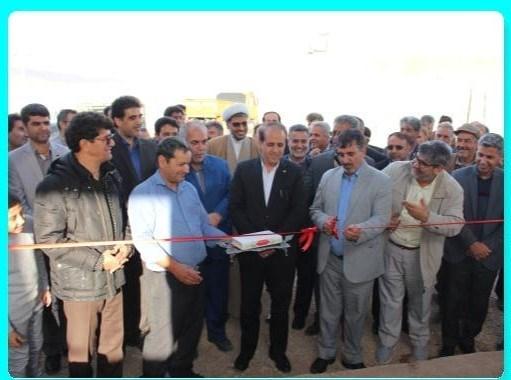 افتتاح خط تولید گاز اکسیژن شهرستان قاینات