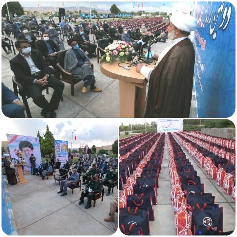 ۱۰۰۰ بسته معیشتی از سوی کارکنان کارخانه کویرتایر به نیازمندان اهدا شد