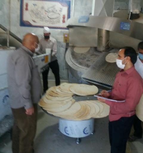 معرفی ۳ واحد نانوایی متخلف در نهبندان به تعزیرات حکومتی
