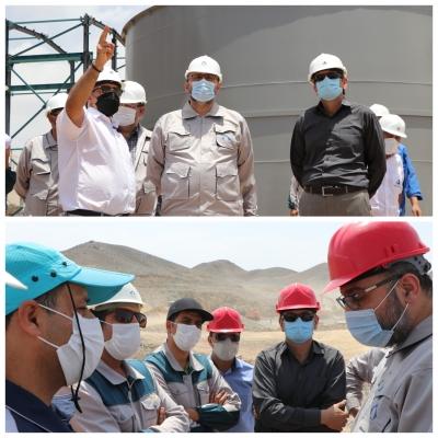 ذخیره یک میلیون تنی آهن در معدن حنار خراسان جنوبی / بازدید رئیس سازمان صمت به همراه مدیر عامل ایمپاسکو از معدن آهن حنار و طلای هیرد