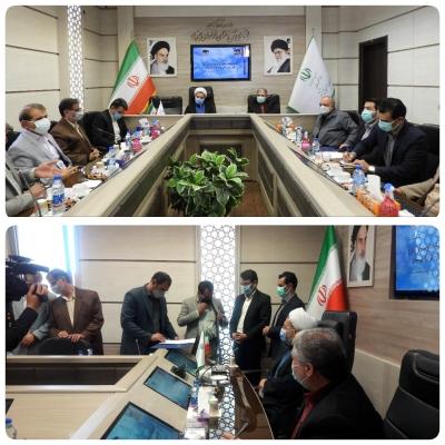 امضای تفاهم نامه تهیه مصالح ساختمانی طرح اقدام ملی مسکن در خراسان جنوبی