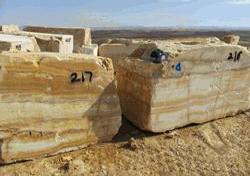 بهره برداری از اولین معدن سنگ مرمر پرتغالی خراسان جنوبی در عشقآباد طبس