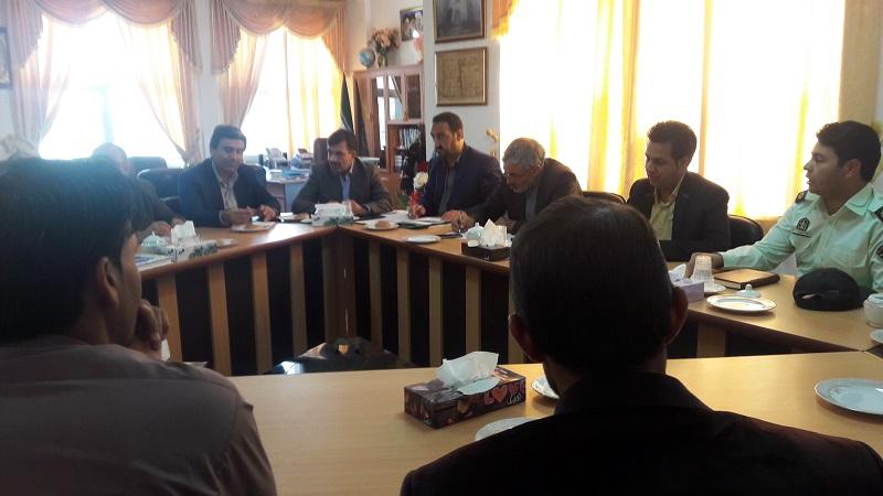 برگزاری جلسه کمیسیون نظارت شهرستان سرایان
